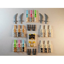 Juguete Lightsabers Lego Linternas Espadas Cuchillos. Brill