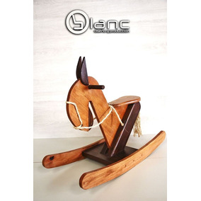 Caballito Mecedor Diseño Madera, Caballo, Hamaca