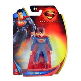 Superman Man Of Steel Classic Traje Superman 3,75 Pulgadas F