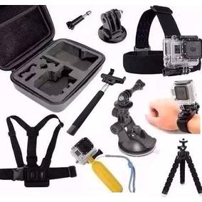 Kit P/ Gopro Hero Action Cam Go Pro Hd Sport Sjcam Eken H9