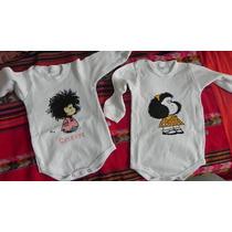 Body Mafalda Exclusivo - Pintados A Mano - Rockeritos