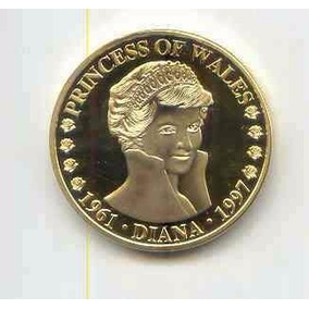 B3640 Moeda Americana Diana Princesa De Gales Laqueada A Ou
