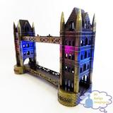 Puente De La Torre Londres Inglaterra Escala Metal 11 Cm
