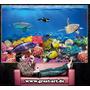 Cuadro Acuario Peces Corales Buceo Decoracion Sala Cuarto