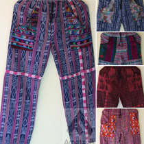 Pantalónes Artesanales Unisex Estilo Hippie Set 6 Piezas