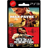 Max Payne 3 + Red Dead Redemption Ps3 | Digital Español Ya!
