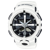 Relógio Casio G-shock Ga-500-7a Branco Lançamento