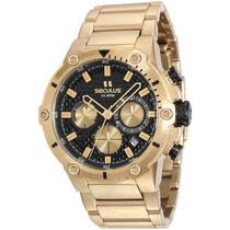 Relógio Seculus Masculino 13012gpsvda4