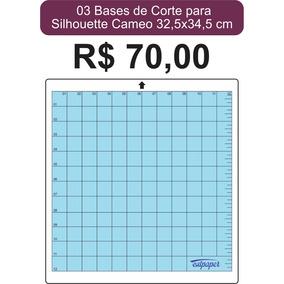 3 Base De Corte Para Silhouette Cameo 30x30cm