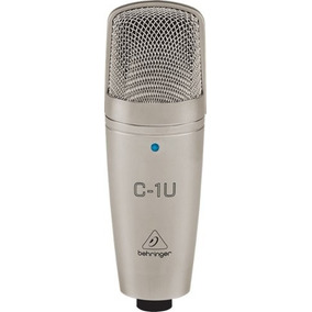 Microfone Condensador C1-u Behringer Usb C1u Youtubers Usam