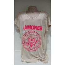 Blusa Em Malha Ramones