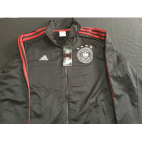 adidas Seleccion De Alemania Chamarra Color Negro Original