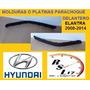 Platinas Moldura Parachoques Delantero Hyundai Elantra 08-14