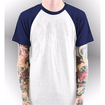 Remeras Raglan Para Sublimar Pack X 10