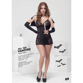 Disfraz Vampira, Hot Sexy ,4bidden Lenceria