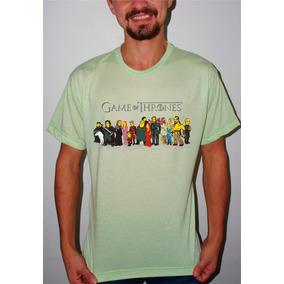 Camiseta Personalizada Game Of Thrones Caricatura 2
