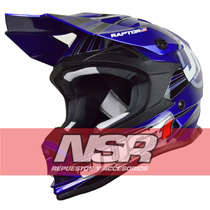 Casco Just1 J32 Raptor Motocross Cross Enduro Atv Nsr Motos