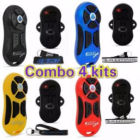 Combo 04 Kits Jfa K1200 - Controle Longa Distancia 1200 M
