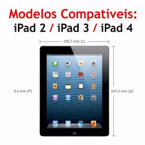 Película De Vidro Temperado Para Apple Ipad 2 3 4