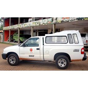 Cp023 - Capota De Fibra Tobogã Para S10 Cab. Simples