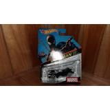 Hot Wheels Spiderman Hombre Araña Traje Negro Marvel 1/64