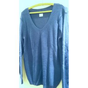 Blusa De Tricot Trabalhada Lisa - Malhas De Monte Sião