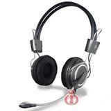 Headfone C/microfone/volume/bass Hm-650mv Grafite