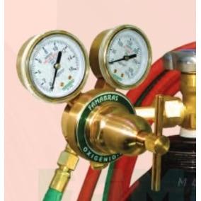 Regulador De Pressão Para Cilindro Oxigênio Valvula Ri-16