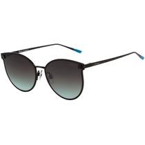 Hickmann Hi 3032 - Óculos De Sol 09a Preto Fosco/ Verde