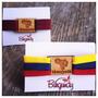 Pulsera De Venezuela...vinotinto...collar Tricolor Venezuela