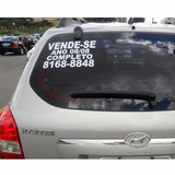 Placas De Adesivo Vende-se Carro E Moto