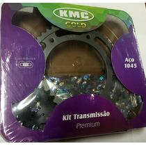 Kit Relação Kmc Nxr 150 Bros 2009 Em Diante Retentor