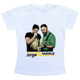 Camiseta Baby Look Feminina - Jorge E Mateus 3
