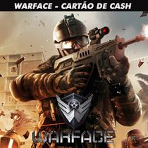 Warface - War Cash 163.500 Cash - Level Up - Envio Imediato!