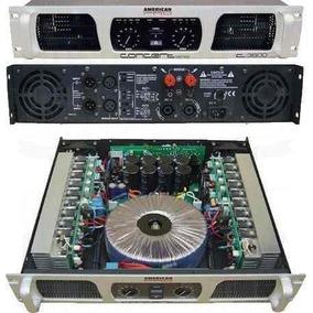 American Pro C-3600 Concert Potencia Amplificador Audio