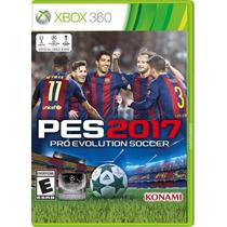 Jogo Mídia Física Pro Evolution Soccer 2017 Pes 2017 Xbox360