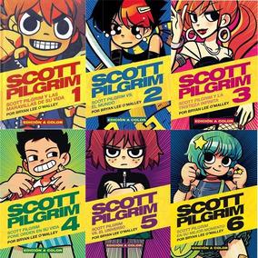 Scott Pilgrim Vol. 1 Al 6 Kamite Color Español Tapa Blanda