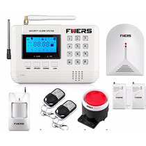 Sistema De Alarma Inalámbrica Gsm Para Casa Oficina Negocio