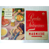 Antiguo Manual Recetario Marmicoc Y Savora - No Envío