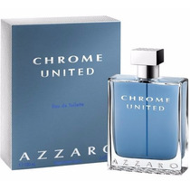 Azzaro Chrome United 100ml - Lacrado Importado 100% Original