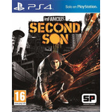 Infamous Second Son Ps4 Fisico New Full Gamer