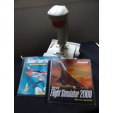 Flight Simulator 2000 + Flight Combate + Joystick Quickshot