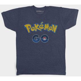 Playeras Pokemon Go Marca Minko Originales. 100% Calidad