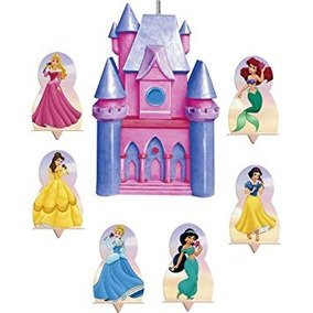 Juguete Disney Princess De La Vela Y De La Torta Conjunto 7