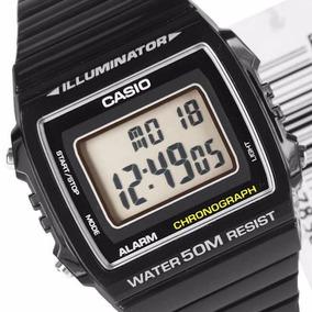 11da7ef8d81 Relógio Casio Digital W-215h Prova Dagua Luz - Frete Gratis