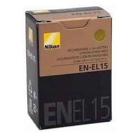 Bateria En-el15 Original Nikon D7000 D7100 D600 D800 Enel 15