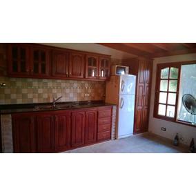 Muebles de cocina algarrobo madera en mercado libre for Fabrica muebles cocina