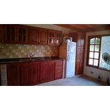 Fabrica De Muebles De Cocina De Algarrobo. Precio Por 1/2 M
