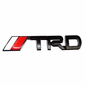 Acessório Emblema Metal Toyota Trd Traseira - Hilux Corolla