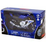 Azul Moto D Colección Yamaha Yzf R1 Escala 1:12 Newray